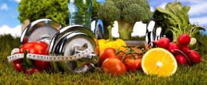 gewicht met gezond eten