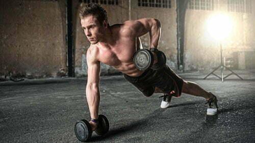 man trainen fitness
