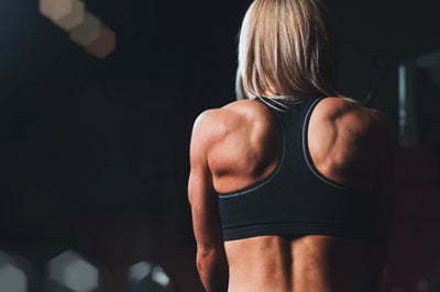 rug training vrouw