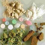 Verschillende soorten drugs